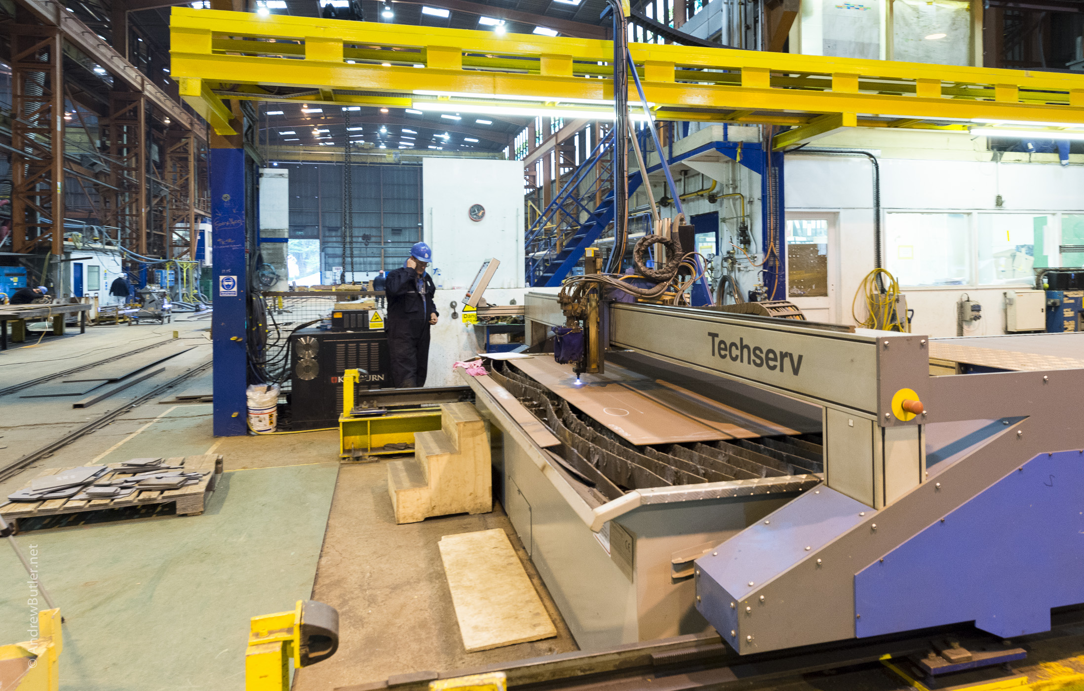HS 4000 Babcock Appledore Techserv Plasma cutting machine