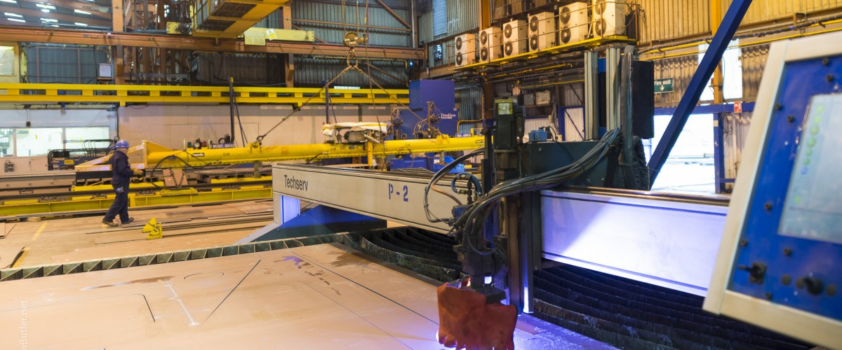 Techserv HS 4000 Plasma: Speeding up Shipbuilding