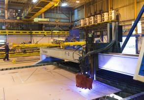 HS 4000 CNC Gas-Plasma Cutter